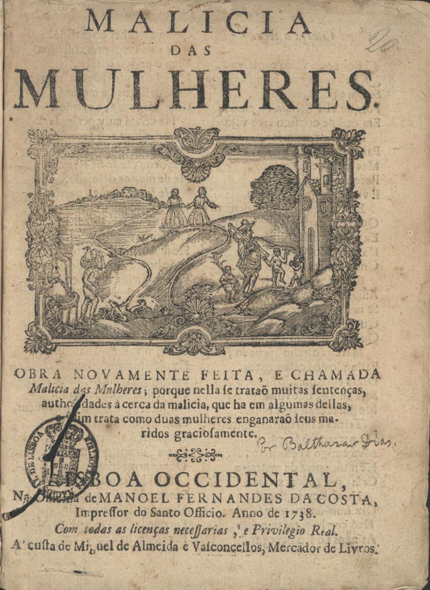 Malícia das Mulheres - Baltasar Dias (1640)