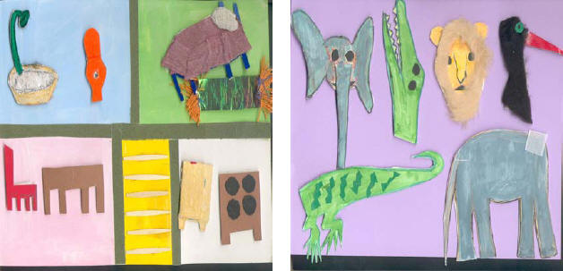 im�genes de material did�ctico para alumnos invidentes en el aula de ingl�s