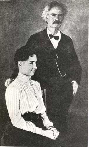 Helen Keller e Mark Twain-1902