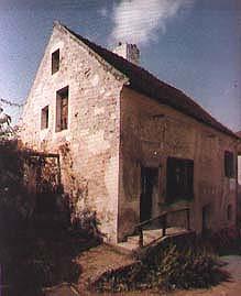 Fotografia da casa natal de Louis Braille