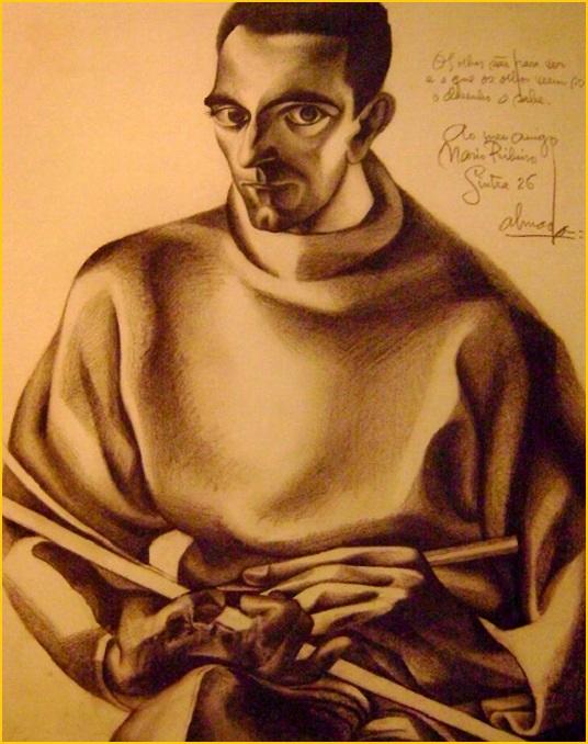 Auto-retrato com paleta - Almada Negreiros, 1926