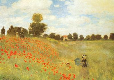 Monet - Les coquelicots à Argenteuil, 1873