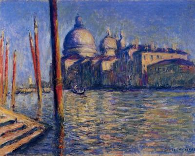 Monet - Le Grand Canal et Santa Maria della Salute, 1908