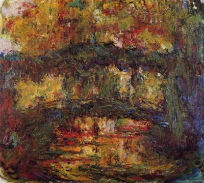 Monet - Le Pont Japonais, 1923