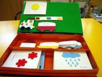 Imagen de la caja que contiene los elementos del calendario de nivel 1.