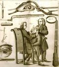 Extração de catarata, 1743