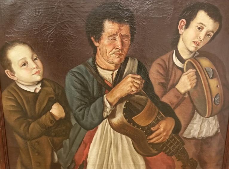Tres Músicos - José Faria e Barros, 1792 (Museu de Évora)