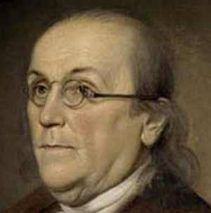 Benjamin Franklin inventou os oculos bi-focais em 1784 - a lente para ver ao longe foi colocada em cima e a lente para a visão de perto estava em baixo.