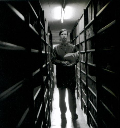 Bibliothécaire aveugle - fotografia de Bettina Rheims, 1992