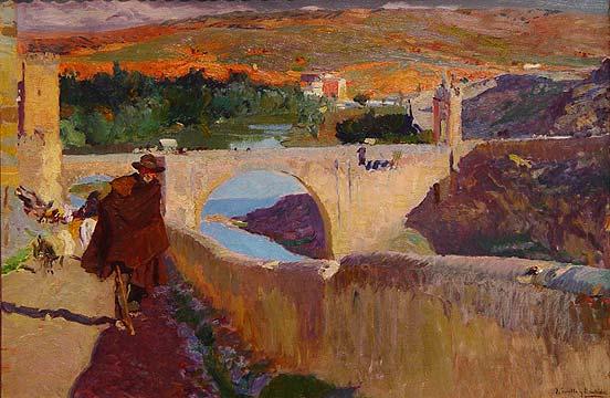 O cego de Toledo - Joaquín Sorolla y Bastida, 1906