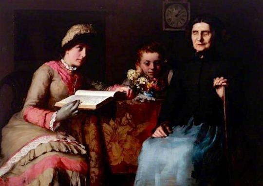 Blind Mary - James Clark, 1881