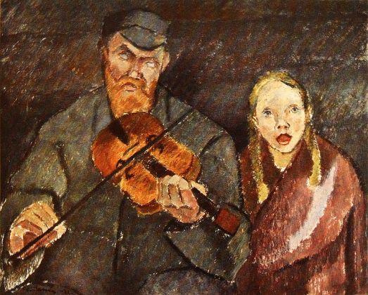Blind Musician - Cawén Alvar, 1922