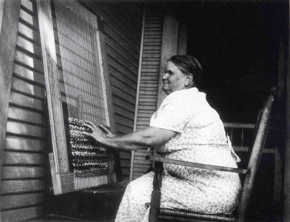 Blind Weaver on the WPA - Eudora Welty, 1930s
