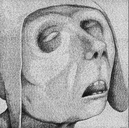 Cego de RupertLees [retrato baseado numa das personagens de Brueghel]