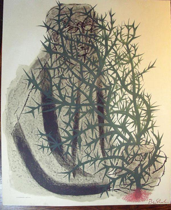 Blind Botanist - Ben Shahn, litografia de1963