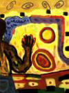 Blind Man Touching The Sun - George Mendoza