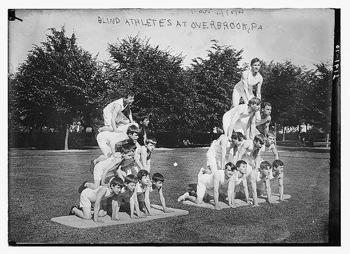 Blind Athletes at Overbrook - Percy Byron, 1910-1915