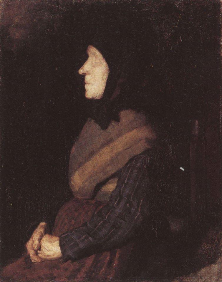 A cega Blue Ane - Anna Ancher, 1882 [Hirschsprung Collection, Copenhagen]