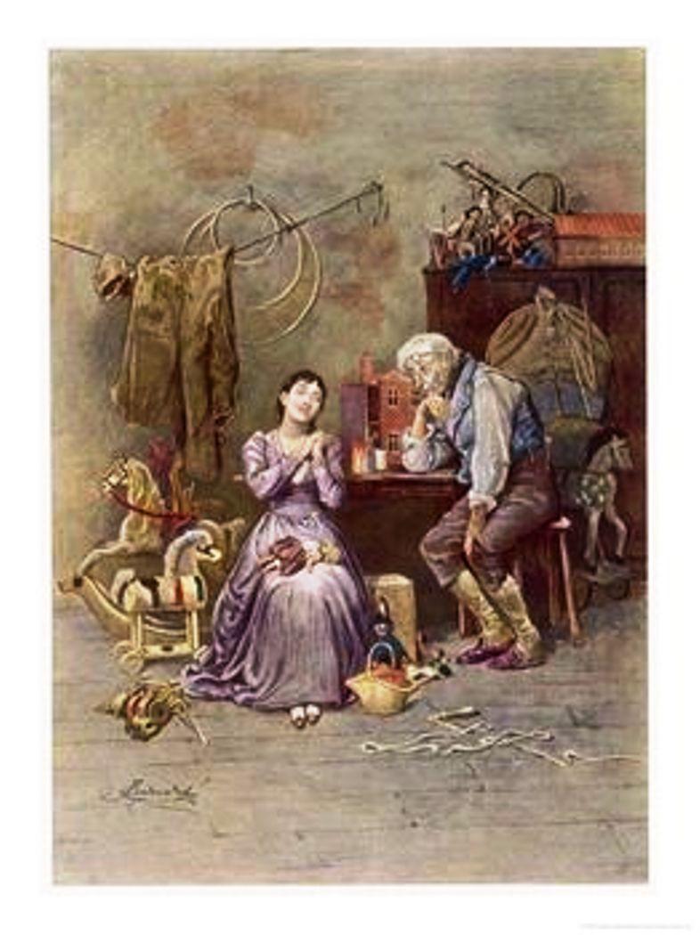 Ilustração de Frederick Barnard