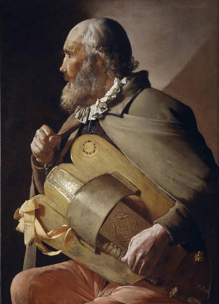 Ciego tocando la zanfonia - Georges de La Tour, c.1620 a 1630 - Museu Nacional do Prado