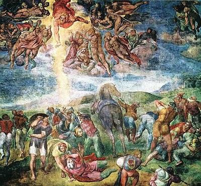 A Conversão de S. Paulo - Michelangelo, 1542