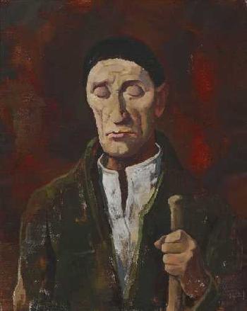 O Cego - Karl Hofer, 1938