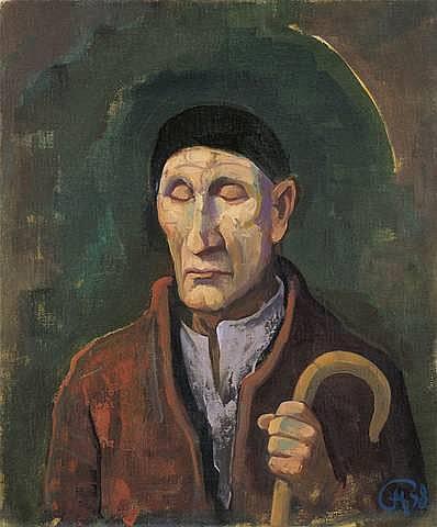 Der Blinde - Neumeister - Karl Hofer, 1941