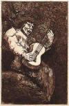 El cantor ciego - Goya, 1824-1828