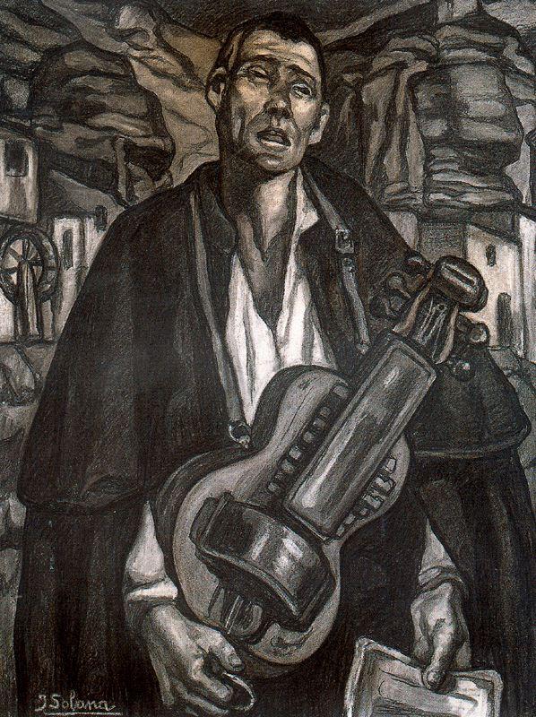 El ciego y los romances - Jose Gutierrez Solana