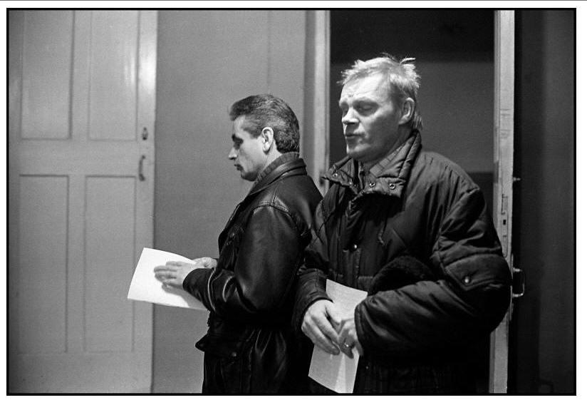 Homens cegos - foto de Aleksey Myakishev, 1995