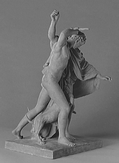 Homer mordu par les_chiens - Claude Michel ou Clodion, 1809 (Louvre)
