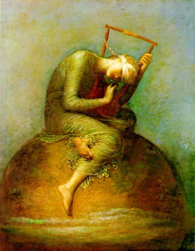 Hope - George Frederic Watts, 1885