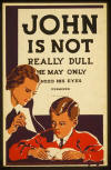 John is not really dull - New York Fed Art Project, 1937