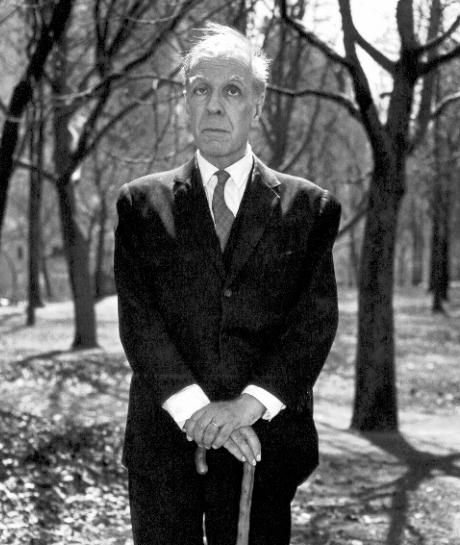 Jorge Luis Borges - fotografia de Diane Arbus