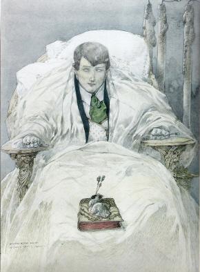 A Cega - quadro de Gustav-Adolf Mossa, 1907