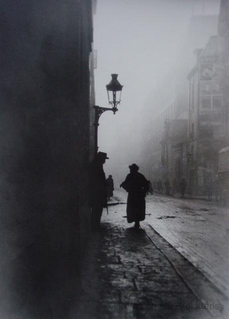 L'aveugle de la rue de la Seine - fotografia de Émile Gos, Paris 1911