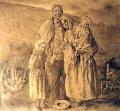 A família do cego - Castelao