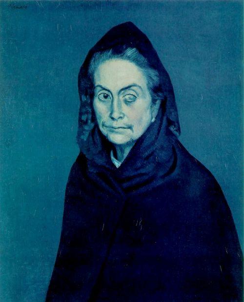 La Celestina - Picasso, 1903