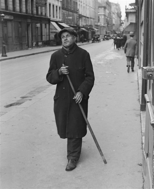 Le Gondolier -  foto de Andre Kertesz, 1927