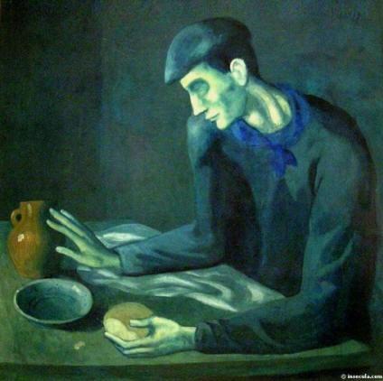 Le Repas de L'Aveugle - Picasso, 1903