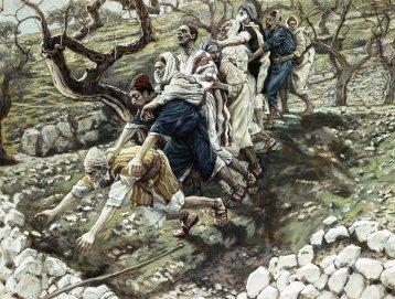 Os cegos no fosso - James Tissot, 1886
