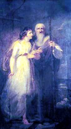 Manto and Tiresias - Henry Singleton, 1792