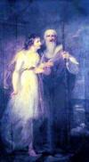 Manto and Tiresias - Henry Singleton, 1792