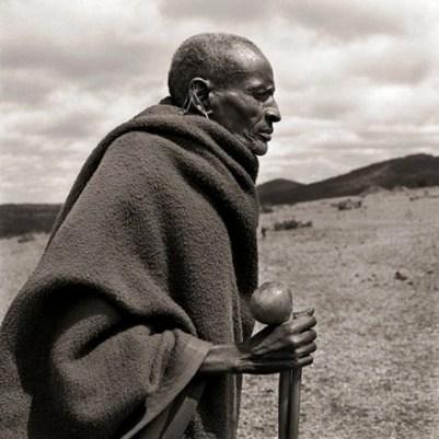 Masai cego - foto de Dana Gluckstein