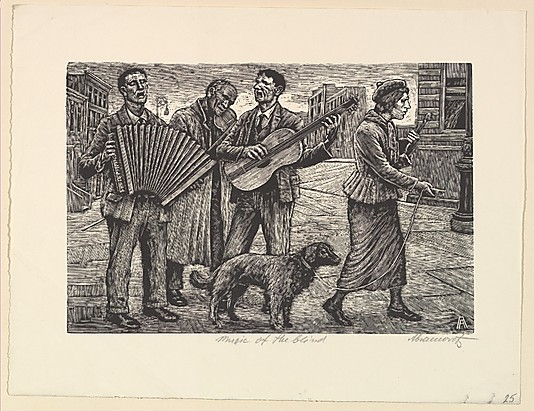 Music of the blind - Albert Abramowitz, 1935-43