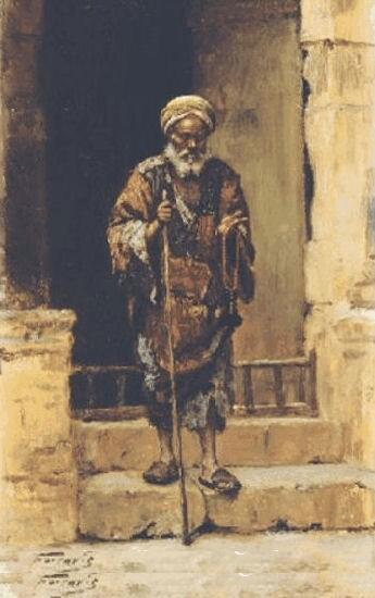 O Cego - Arthur von Ferraris [1856-1936]