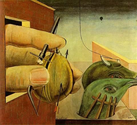 Oedipus Rex - Max Ernst, 1922
