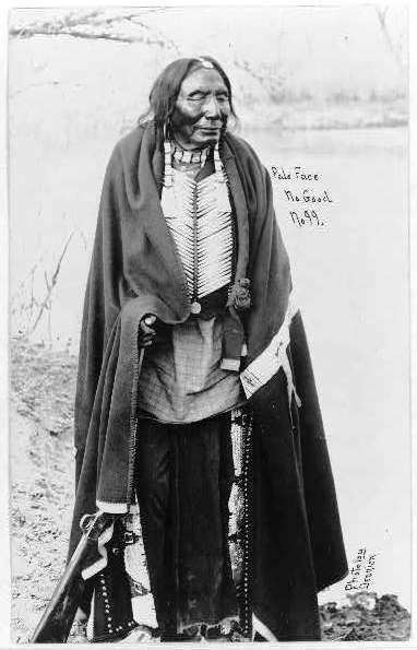 Old Blindy Arapahoe - fotografia de J.V. Dedrick, 1909