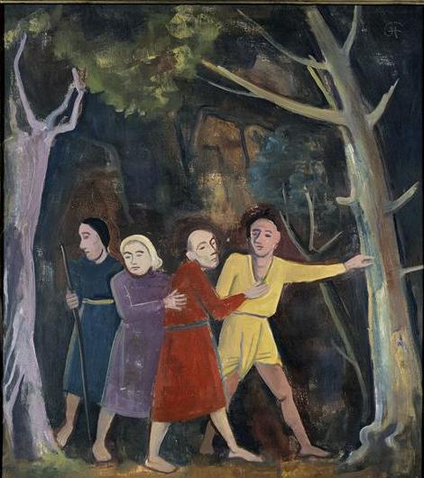 Os Cegos - Karl Hofer, 1948 (National Galerie Berlin)