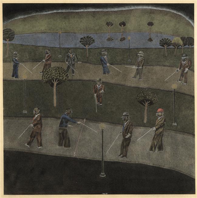 Parc aux aveugles - Segui Antonio, 1978